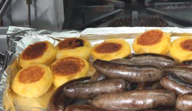 Llapingachos Ecuadorian potato-cheese patties