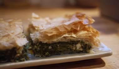 Spanakopita Greek spinach and feta pie