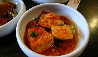 Tubu choerim Korean spicy tofu