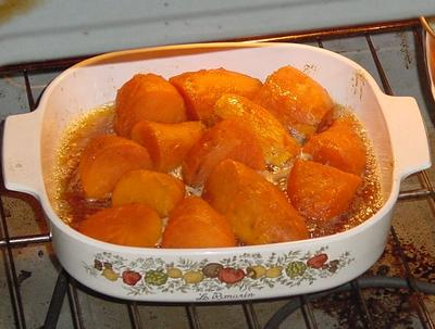 Candied Sweet Potatoes Recipe (American sugar-baked sweet potatoes)