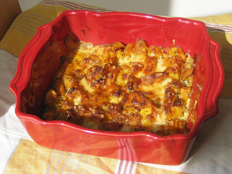 Gratin de Potiron (French winter squash casserole)