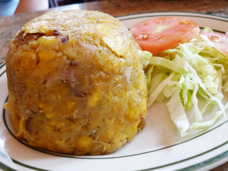 Mofongo mashed plantains