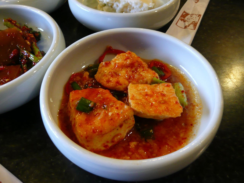 Tubu choerim Korean spicy tofu